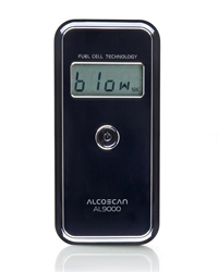 AlcoMate AccuCell Fuel Cell Breathalyzer