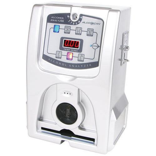AlcoScan AL3500 Coin & Bill Operated Breathalyzer